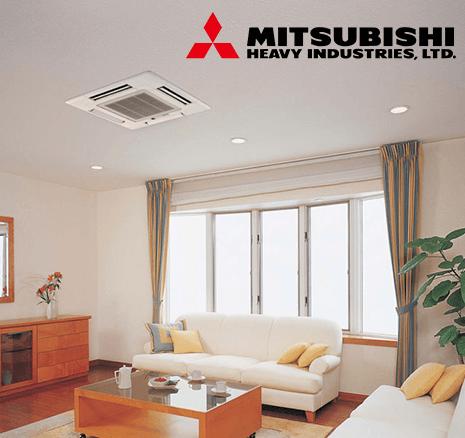 mitsubishi kaset tipi klima kataloğu