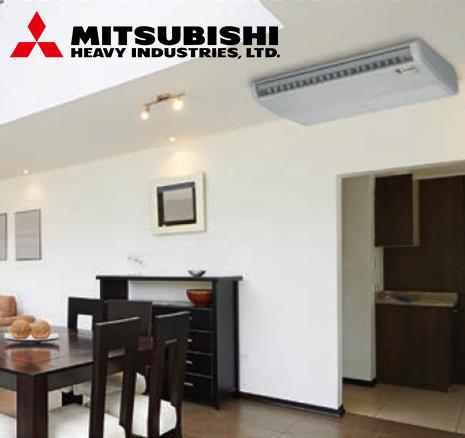 mitsubishi tavan tipi klima kataloğu