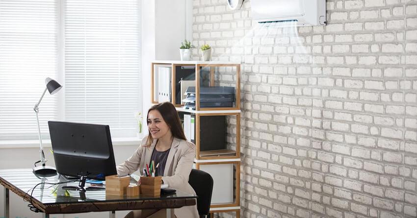 ofisler için en uygun klima